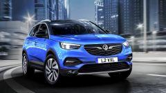 Opel Grandland X: vista frontale