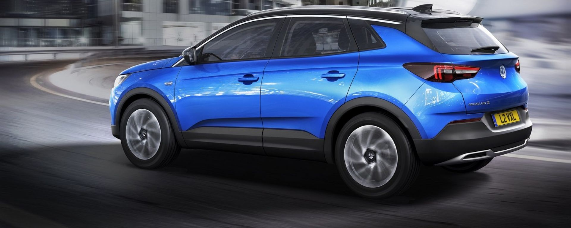 Opel Grandland X: vista laterale