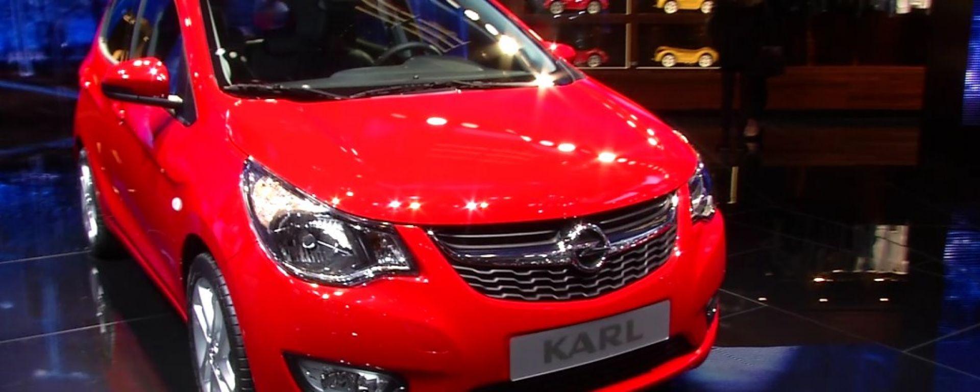 Opel: il video dallo stand
