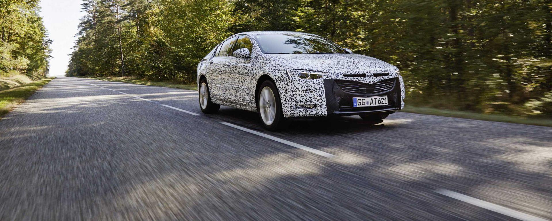 Opel Inisignia: la nuova generazione aggiungerà al nome le parole Grand Tourer