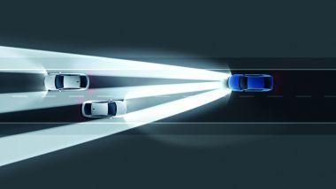 Opel Insignia 2020, nuovi fari IntelliLux LED Pixel