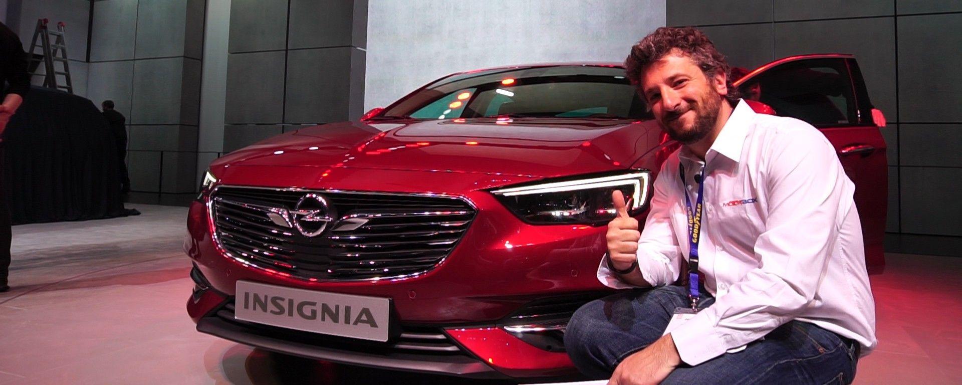 Opel Insignia: due novità al Salone di Ginevra 2017