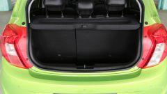 Opel Karl: il bagagliaio con schienale frazionato