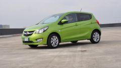 Opel Karl la prova su strada