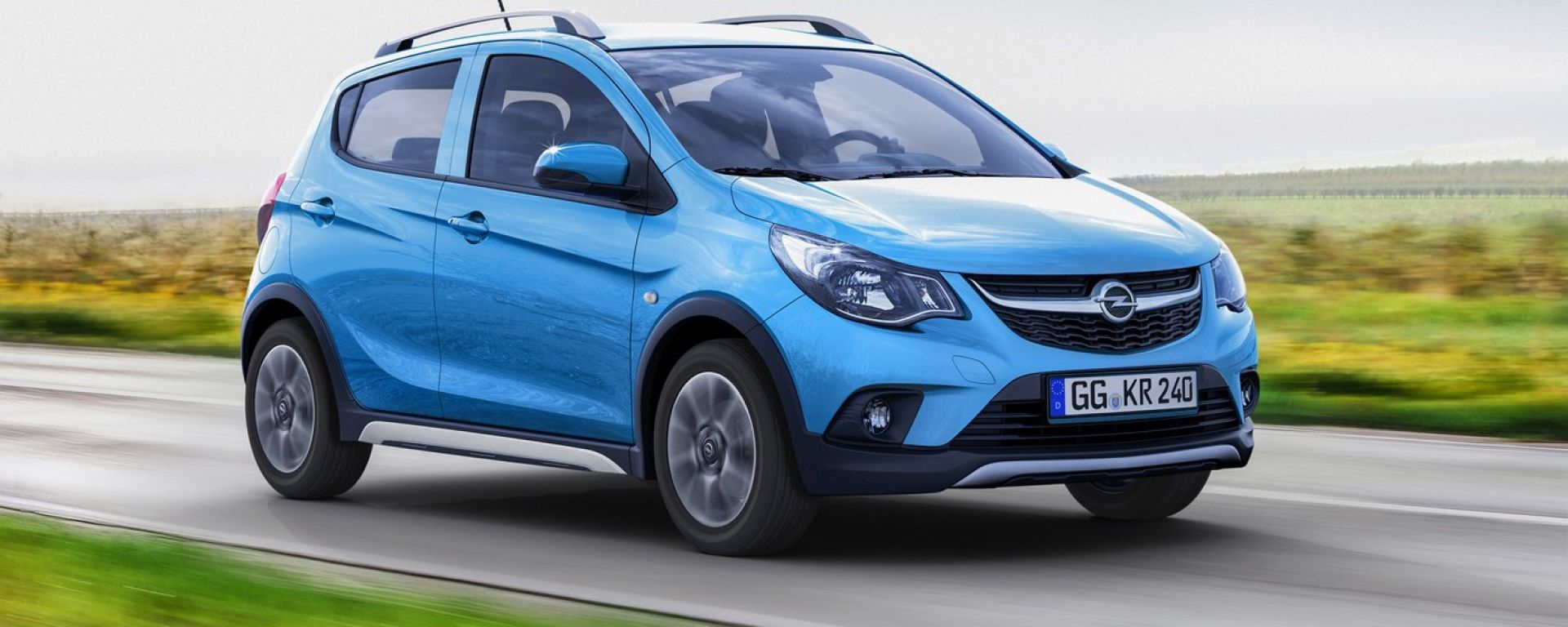 Opel Karl Rocks, la piccola tedesca si rinforza