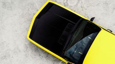 Opel Manta GSe: il cofano nero a contrasto