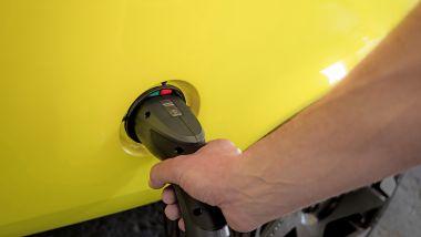 Opel Manta GSe in carica