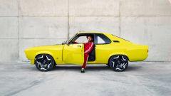 Opel Manta GSe: visuale laterale