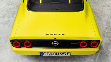 Opel Manta GSe: visuale posteriore
