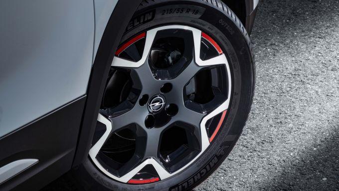 Opel Mokka 2021 1.2 PureTech 130 CV GS Line: dettaglio del cerchio
