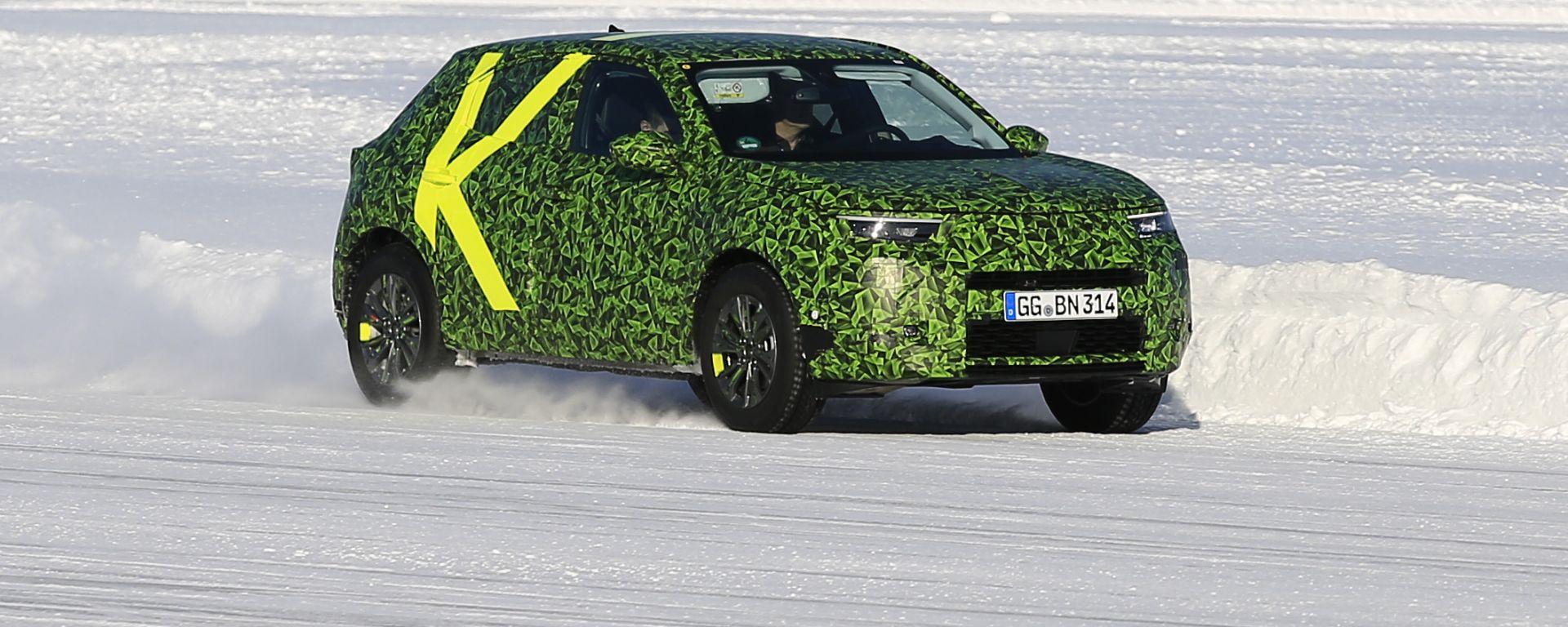 Opel Mokka 2021, foto spia