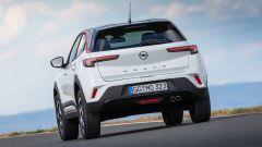 Opel Mokka 2021: il posteriore della GS Line