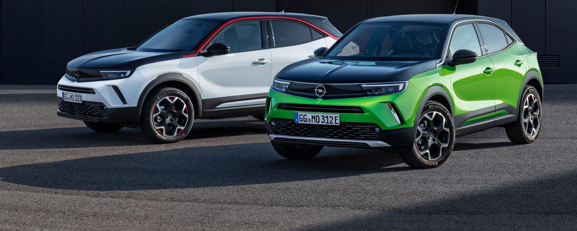Opel Mokka 2021: versioni GS Line e Ultimate
