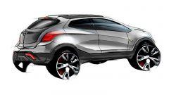 Nuova Opel Mokka X: uscirà nel 2020 con pianale e motori Peugeot