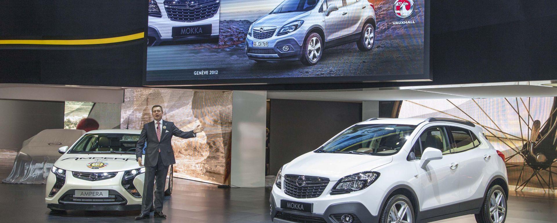 Opel Mokka, le nuove foto