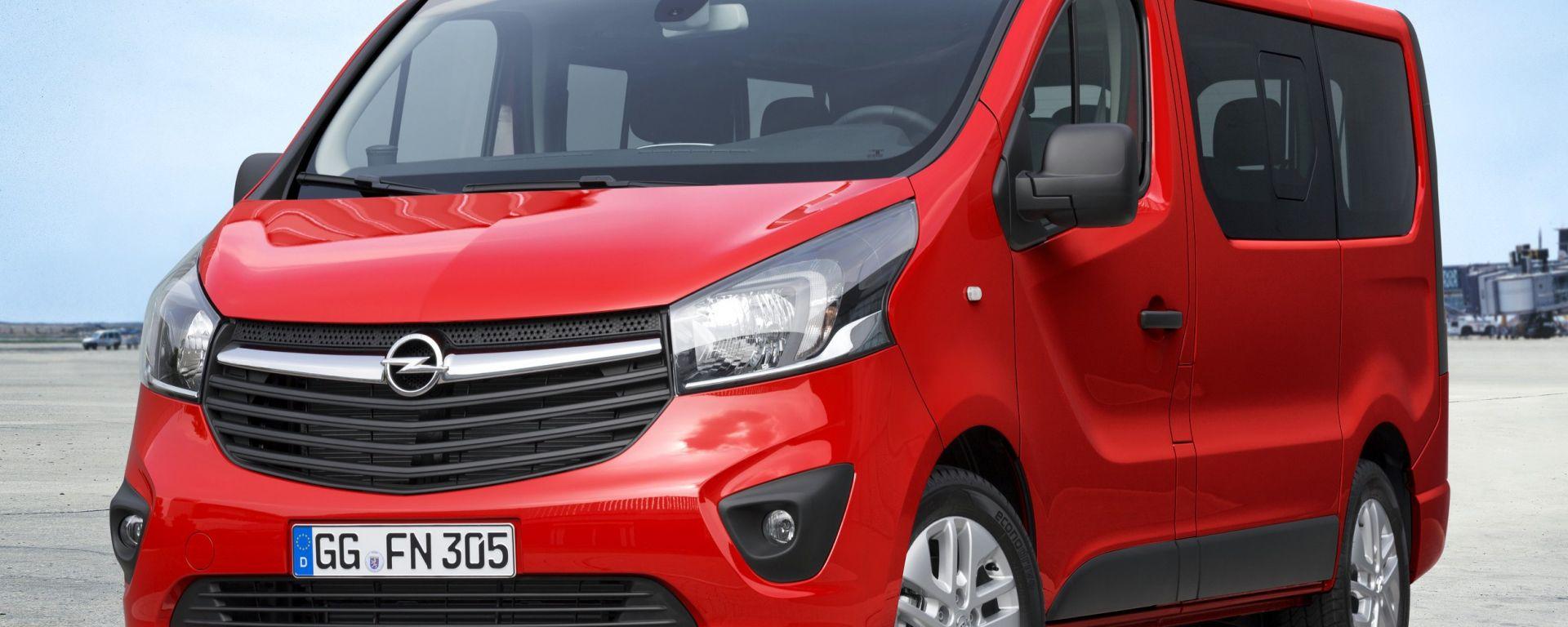 Opel Vivaro Combi 2015