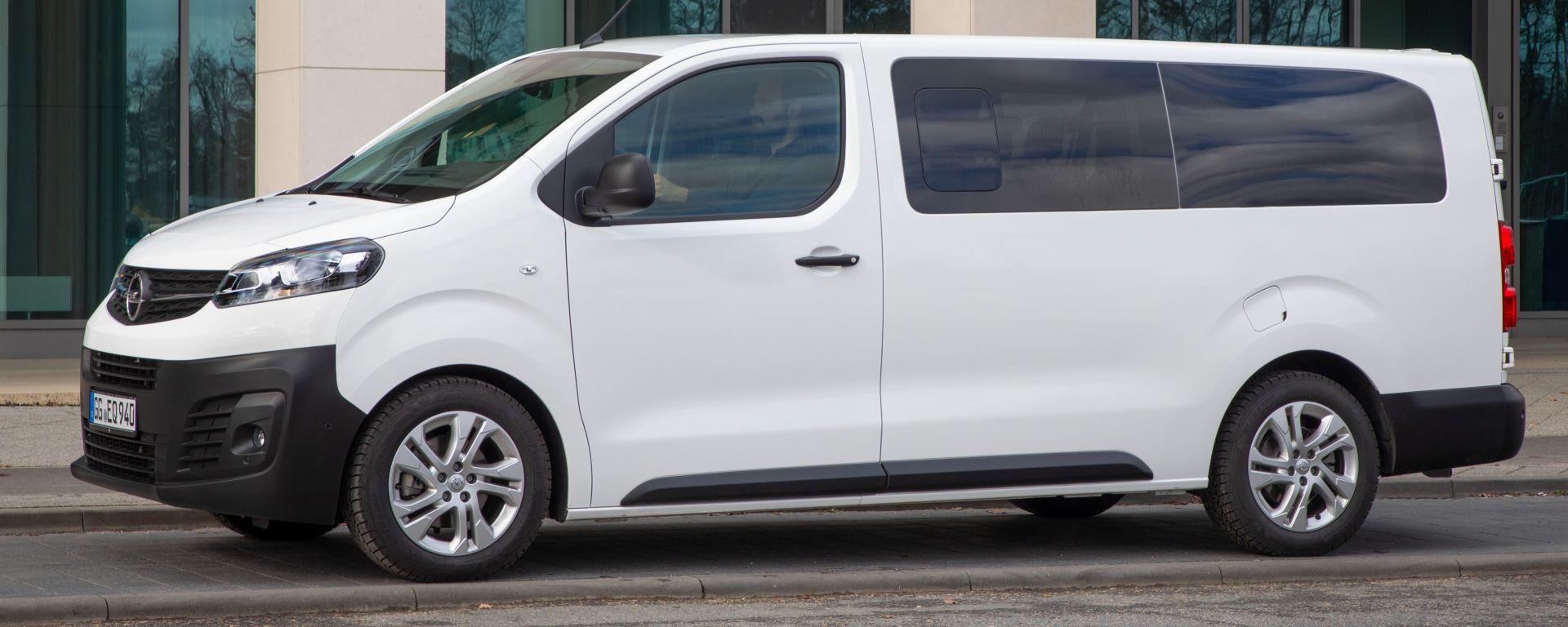 Opel Vivaro Laterale