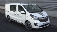 Opel Vivaro Sport, look racing e allestimento più ricco