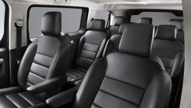 Opel Zafira-e Life, gli interni