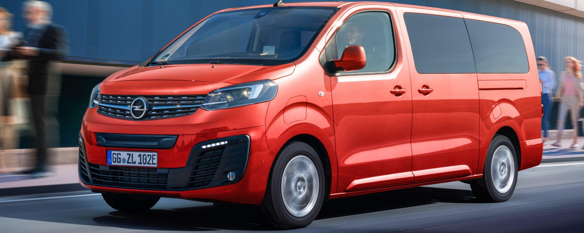 Opel Zafira-e Life: il van 100% elettrico di Rüsselsheim