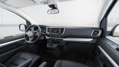 Opel Zafira-e Life: l'abitacolo interno