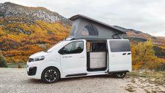 Opel Zafira Life by Crosscamp, il tetto a soffietto