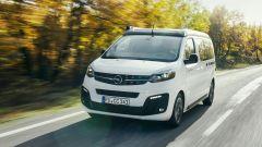 Opel Zafira Life diventa camper grazie a Crosscamp