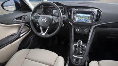 Opel Zafira: nuova plancia e nuovo schermo da 7 pollici per i sistema di infotainment