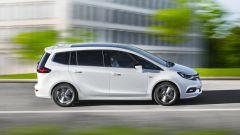 Opel Zafira: vista laterale