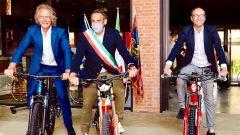 Open Bike Fest: organizzatori e promotori Zanardo, Conte e Caner