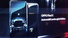 OPPO Find X Automobili Lamborghini Edition: guscio in simil carbonio e interfaccia nero dedicato