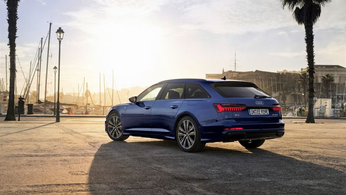 Ordini aperti per le plug-in Audi: A6 Avant 55 TFSI e