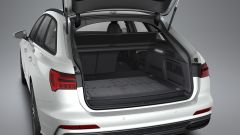 Ordini aperti per le plug-in Audi: il bagagliaio della A6 Avant 50 TFSI e