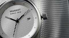 Orologi Armand Peugeot, cassa in argento satinato