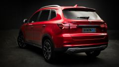 OS'Car RX5: le linee del posteriore assomigliano molto a quelle della BMW X5