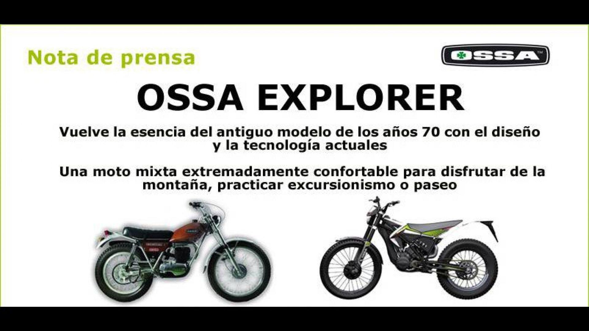 novit u00e0  ossa explorer 2012