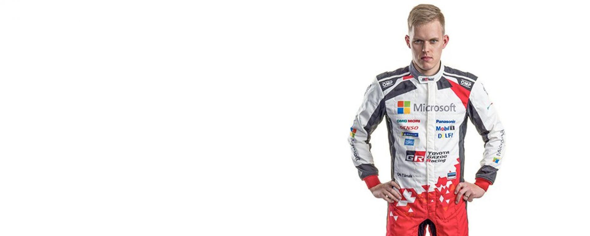 Ott Tanak - Toyota Yaris WRC