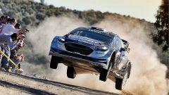 Ott Tanak e la Ford Focus - WRC 2017 Rally Argentina