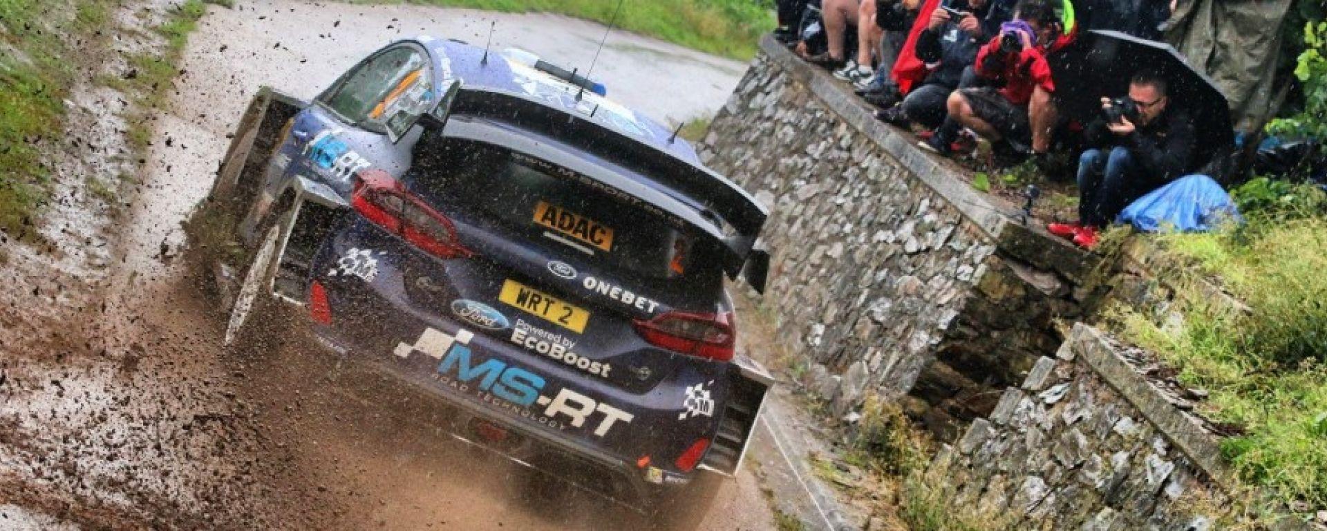 Ott Tanak in testa dopo il venerdì nel Rally di Germania 2017 - WRC 2017