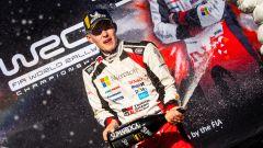 Ott Tanak - podio Rally di Spagna wrc 2019