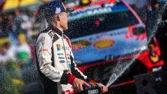 Ott Tanak - podio Rally Spagna Wrc 2019