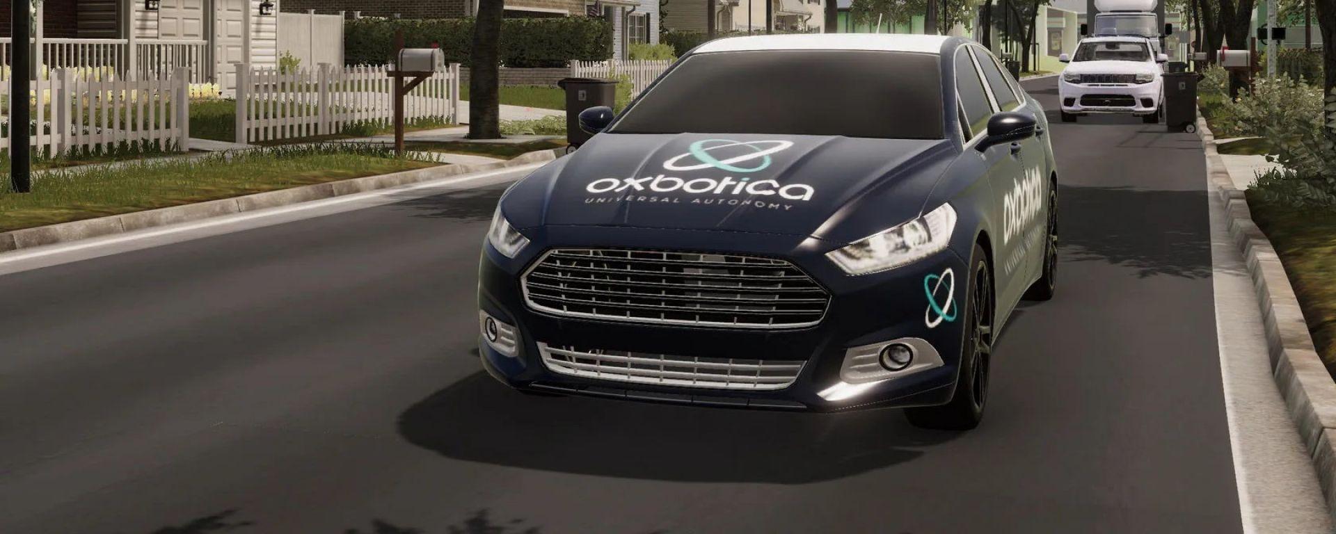 Oxbotica si occupa di guida autonoma ma ha formato un team fatto di sviluppatori di videogiochi per effettuare i test in realtà