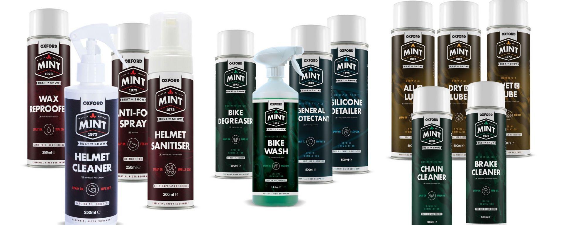 Oxford Mint: pulitori al profumo di menta