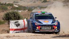 WRC 2017: Dani Sordo primo nello shakedown del Rally Italia Sardegna, con la Hyundai i20 Coupè WRC Plus