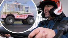 Record per Paddy McGuinness e il suo  furgone dei gelati