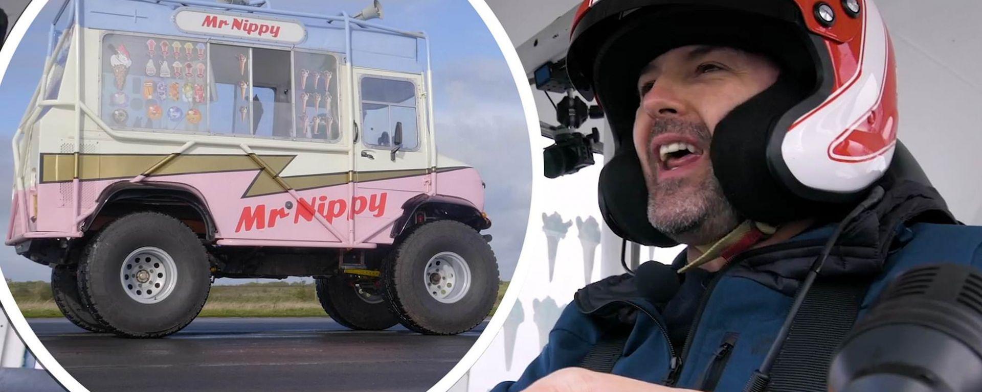 Paddy McGuinness e il furgone dei gelati da record: Mr. Nippy