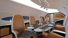 Pagani Airbus ACJ 319 Infinito: il tavolo è in carbonio