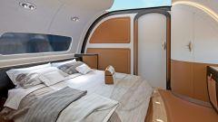 Pagani Airbus ACJ 319 Infinito: la camera da letto