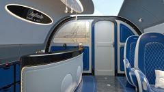 Pagani Airbus ACJ 319 Infinito: l'angolo bar