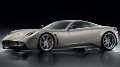 Pagani Huayra a motore anteriore: il rendering